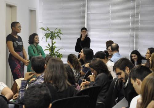 Equipe do IDDD e associados: Barbara Correia, assessora de projetos, e Marina Dias, diretora executiva do IDDD